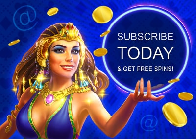 Subscribe to emails at GrandX Online Casino